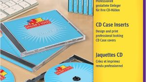 Avery Jewel Case Template Avery Zweckform Cd Jewel Case Inserts C32250 25 Avery