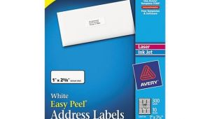 Avery Label Template 18160 Avery 18160 Inkjet Address Labels 1 X 2 5 8 White 300