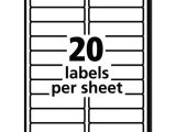 Avery Labels 8161 Template Avery 8161 Labels