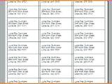 Avery Labels 8460 Template Avery 8460 Template Avery Labels 8460 Template Address