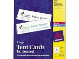 Avery Large Tent Card Template Avery Tent Card Ld Products