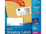 Avery Laser Label Templates Avery Easy Peel Clear Mailing Labels for Laser Printers 1