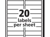 Avery Mailing Labels Template 30 Per Sheet Avery Easy Peel Mailing Label Ave15661 Supplygeeks Com