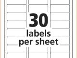 Avery Mailing Labels Templates Address Label Template Avery 8160 Templates Resume