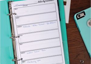 Avery Mini Binder Templates 17 Best Images About Planners Notebooks Journals On