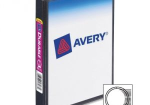 Avery Mini Binder Templates Avery Durable View Ring Binder Ave17167 Shoplet Com