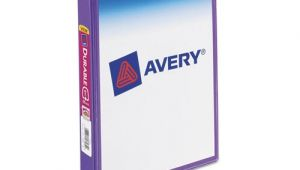 Avery Mini Binder Templates Avery Mini Size Durable View Binder W Round Rings