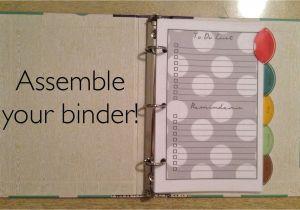 Avery Mini Binder Templates Easy as Diy Diy Mini Binder Purse Companion 14 Free