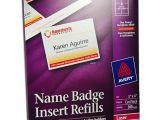 Avery Name Badge Template 5392 Avery 5392 Names Badge Insert Refills 3 X 4 Quot nordisco Com