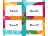 Avery Name Badge Template 5392 Avery Name Badge Template 5392 Images Template Design Ideas