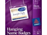 Avery Name Badge Template 5392 Avery White 3 X 4 Inch Name Badge Insert Refills 300 Count