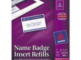 Avery Name Badge Template 5392 Bettymills Avery Name Badge Inserts Avery Ave5390