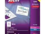 Avery Name Badge Template 5395 Avery 5395 Adhesive Name Badges the Office Dealer