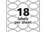 Avery Oval Template Ave22804 Avery Oval True Print Easy Peel Labels Zuma