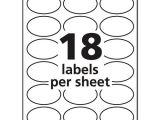 Avery Oval Template Ave22804 Avery Oval True Print Easy Peel Labels Zuma