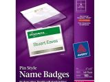 Avery Photo Id Badge Templates Avery Name Badge Template Lbi43 Border Photo Diverting