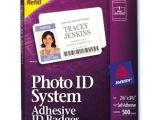 Avery Photo Id Badge Templates Visitor Photo Id Badge Avery Replacement 2940 2941 Ebay