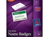 Avery Pin Style Name Badges 74549 Template Bettymills Avery Pin Style Name Badges Avery Ave74549
