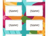 Avery Pin Style Name Badges 74549 Template Template for Avery 74461 Clip Style Name Badges 214 X 312