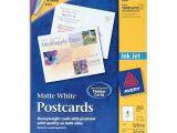 Avery Postcard Template 8387 Printer