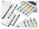 Avery Printable Self Adhesive Tabs 16282 Template Avery Printable Tabs Self Adhesive White 80 Pk Ld