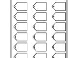 Avery Printable Tags with Strings Template Avery 22848 Printable Tags with Strings