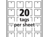Avery Printable Tags with Strings Template Avery 22849 Printable Tags with Strings