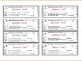 Avery Printable Tickets Template Avery Business Card Template 8871 Viplinkek Info Blank