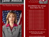 Avery Rack Card Template Online Candidate now Offering Political Brochure Templates