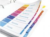 Avery Ready Index Template 11818 Avery Ready Index 1 10 Tab Table Of Contents Dividers for