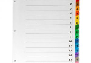 Avery Ready Index Template 15 Tab Avery Ready Index 15 Tab Template