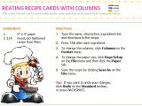 Avery Recipe Card Template Friendfeed Blog