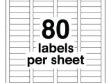 Avery Return Address Label Template 80 Labels Per Sheet Template Aiyin Template source