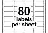 Avery Return Address Labels 80 Per Sheet Template 80 Labels Per Sheet Template Aiyin Template source
