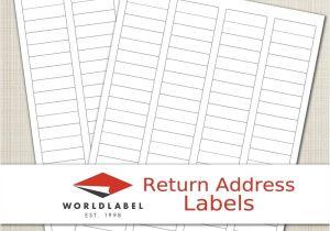 Avery Return Address Template Address Labels Word