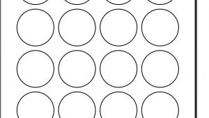 Avery Round Sticker Template Best Photos Of Polaroid Round Adhesive Labels Template 2
