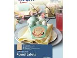 Avery Scallop Round Labels Template Avery Pearlized Scallop Round Labels 2 5 Inch Diameter