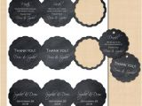 Avery Scallop Round Labels Template Chalkboard Scallop Round Tags 2 5 Text Editable Printable