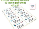 Avery Shipping Label 10 Per Sheet – 2 X 4 Template 1000 4 Quot X2 Quot Shipping Labels 10 Labels Per Sheet Same