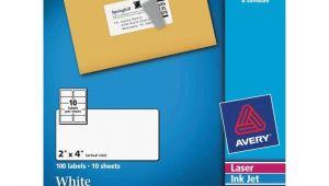 Avery Shipping Label 10 Per Sheet – 2 X 4 Template 2 X 4 Label Template 10 Per Sheet and Avery Laser Inkjet
