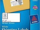Avery Shipping Label 10 Per Sheet – 2 X 4 Template 50 Avery 5163 8163 2 Quot X 4 Quot Shipping Address Labels 10