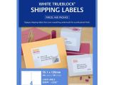 Avery Shipping Label 10 Per Sheet – 2 X 4 Template Avery Laser Shipping Labels White 100 Sheets 4 Per Page