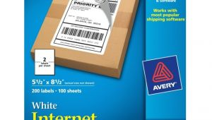 Avery Shipping Label Template 5126 Avery 5126 Shipping Label 5 50 Quot Width X 8 50 Quot Length 200