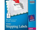 Avery Shipping Label Template 5168 Avery Easy Peel White Shipping Labels Ave5168
