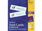 Avery Small Tent Card Template Avery 5305 Laser Tent Card