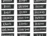 Avery Spice Labels Template 30 Best Spice Jar Labels and Templates Images by