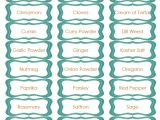 Avery Spice Labels Template 8 Best Images Of Avery Printable Spice Labels Avery