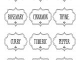 Avery Spice Labels Template Avery 10 Labels Per Sheet Template or Free Printable