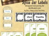 Avery Spice Labels Template Spice Jar Labels by Ink Tree Press Worldlabel Blog