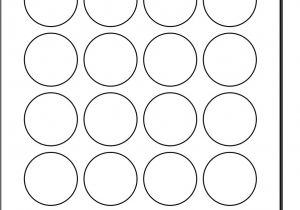 Avery Sticker Templates Circle Best Photos Of Polaroid Round Adhesive Labels Template 2